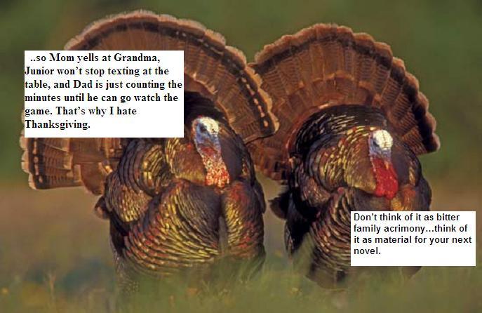 Family turkeys