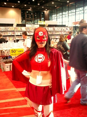 Superhero at C2E2