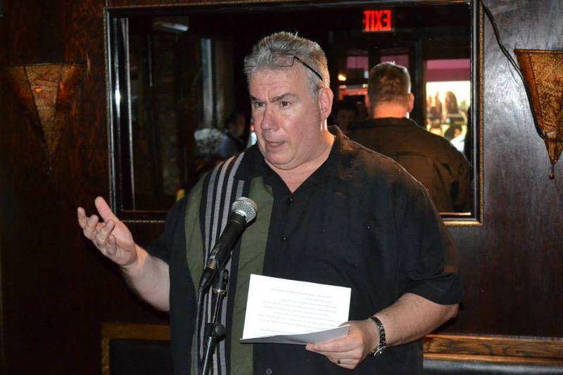 Charlie Stella at The Shade Bar (Noir at the Bar night)