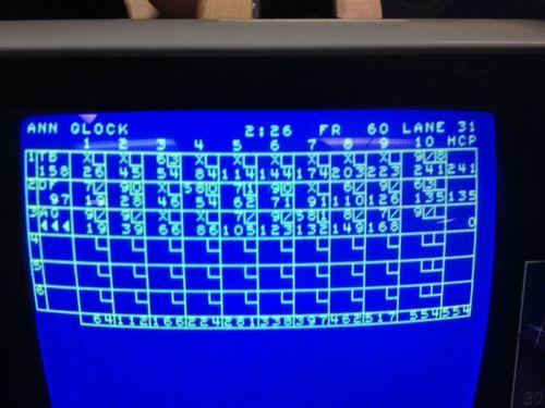 Saturday bowling