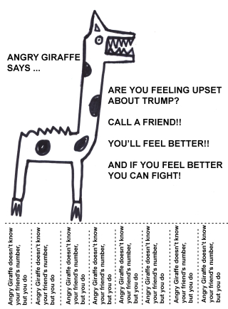 Angrygiraffecallafriend